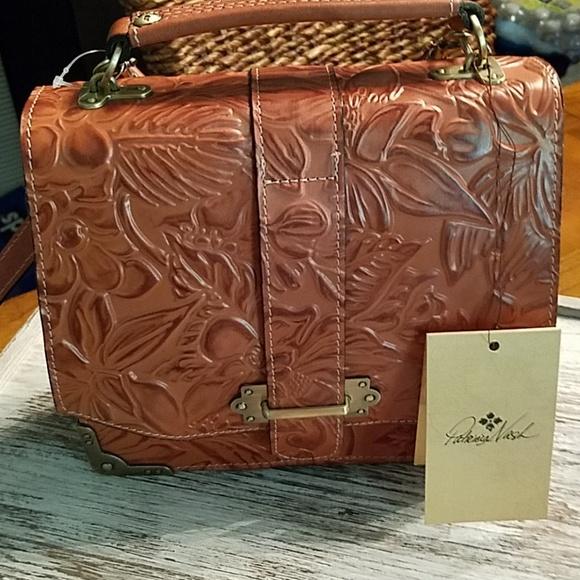 5d544156389 Patricia Nash Bags   Bnwt Hand Tooled Leather Bag   Poshmark